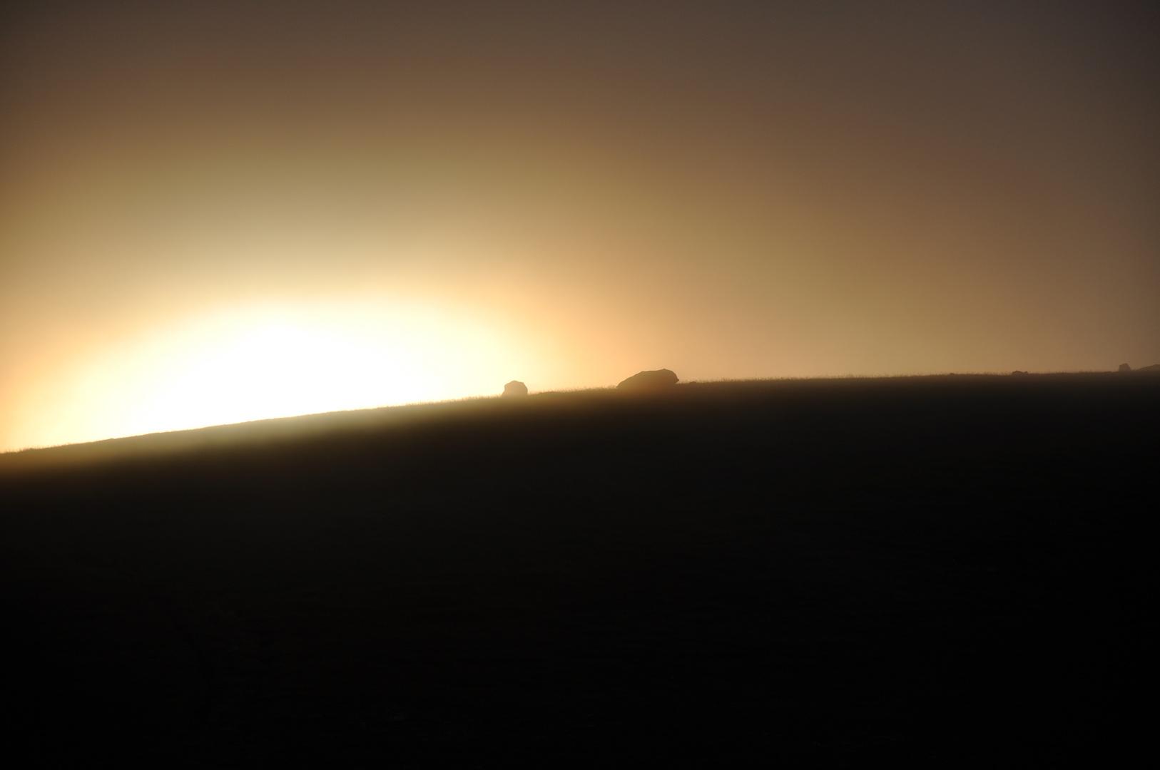 Coucher de soleil sur les Lofotens
