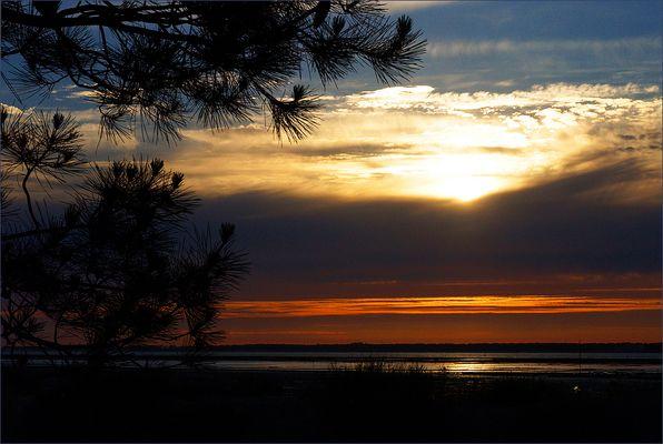 Coucher de soleil sur l'Île d'Oléron 1 - Sonnenuntergang auf der Oléron Insel 1