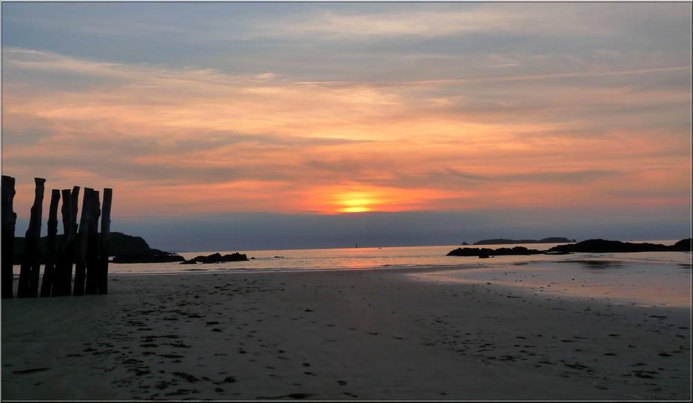 Coucher de soleil sur St-Malo 2