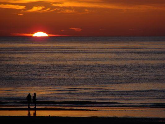 coucher de soleil...devinez où