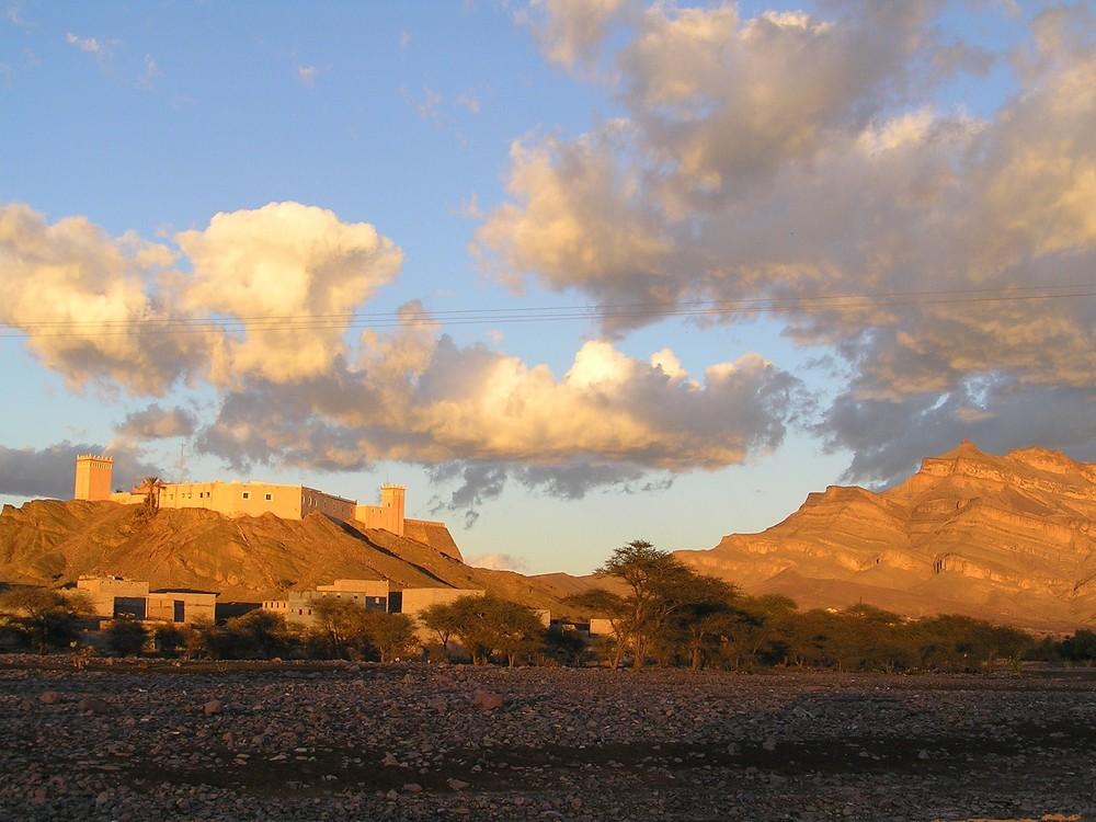coucher du soleil au Maroc