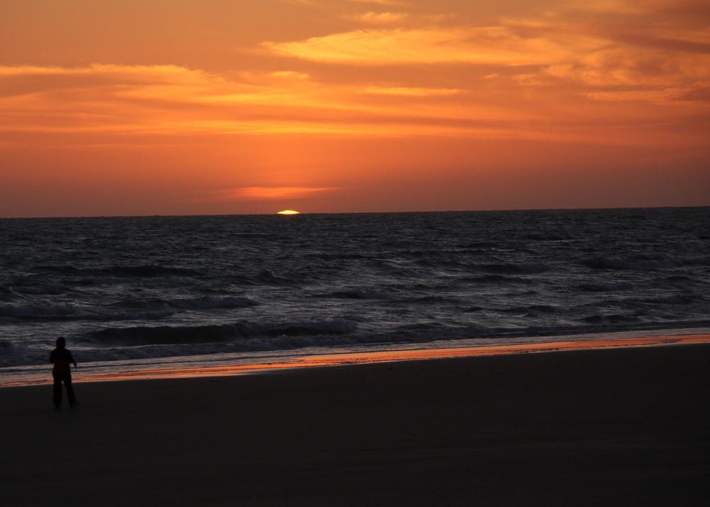 coucher du soleil sur la costa del sol!