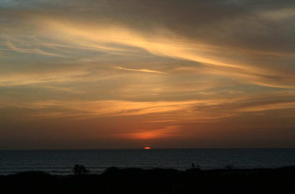 coucher soleil II