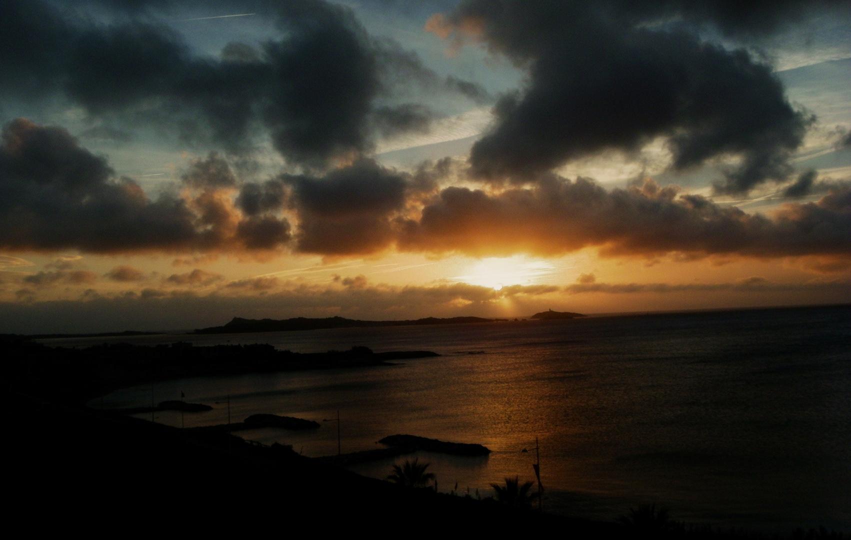 coucher soleil six fours les plages