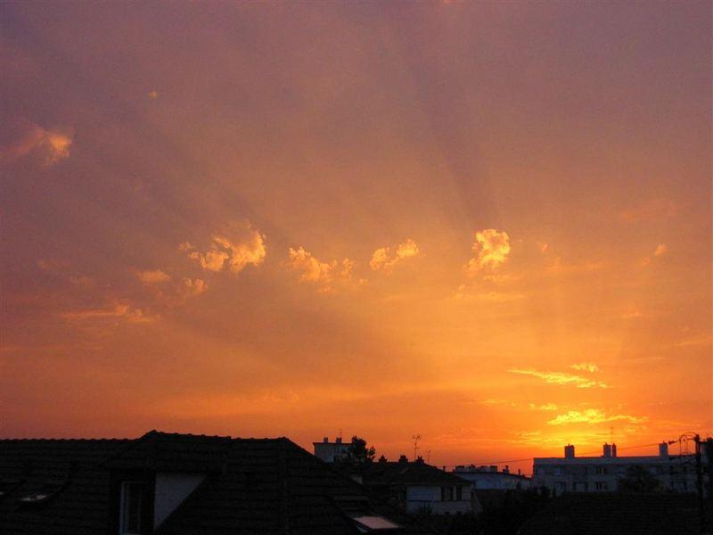 coucher sun