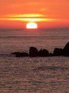 Couchers de soleil. Bretagne
