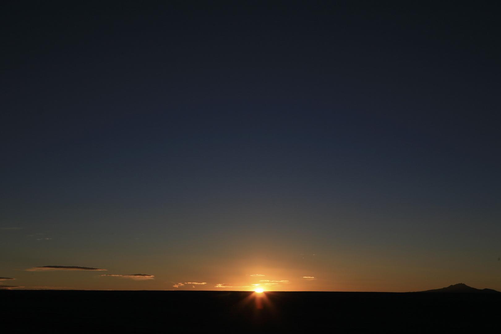 couher de soleil à uyuni, 4000m