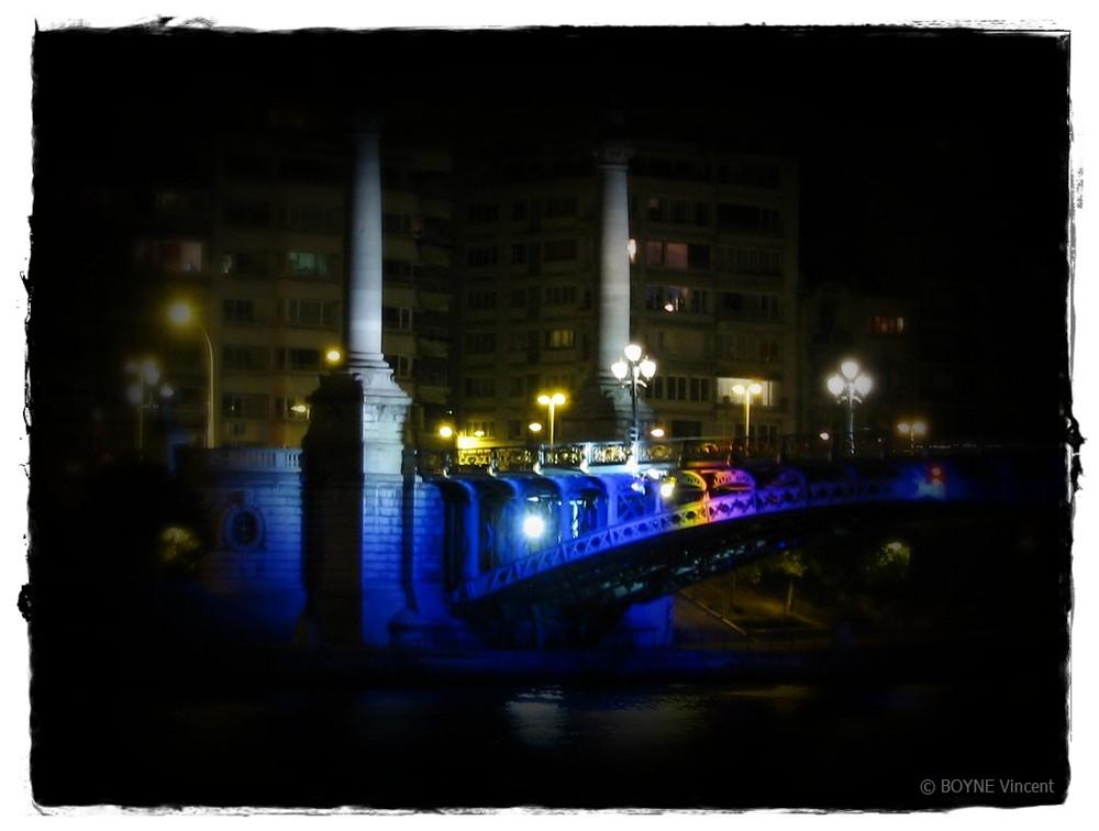 couleur dans la nuit