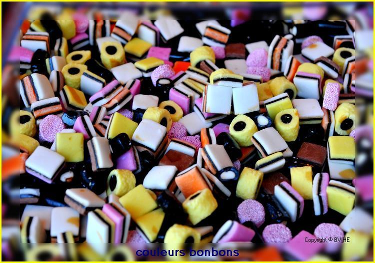 Couleurs bonbons