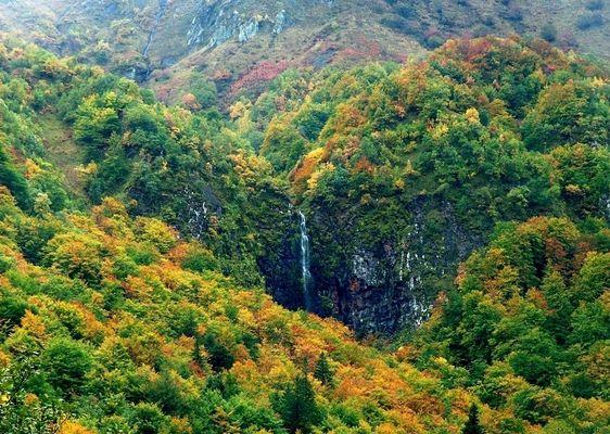 Couleurs d'automne dans le Puy de Dome