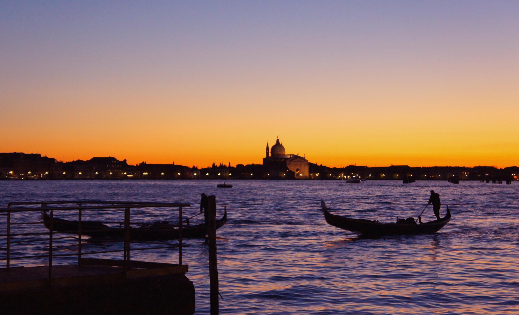 Couleurs de Venise - Un soir sur la Lagune