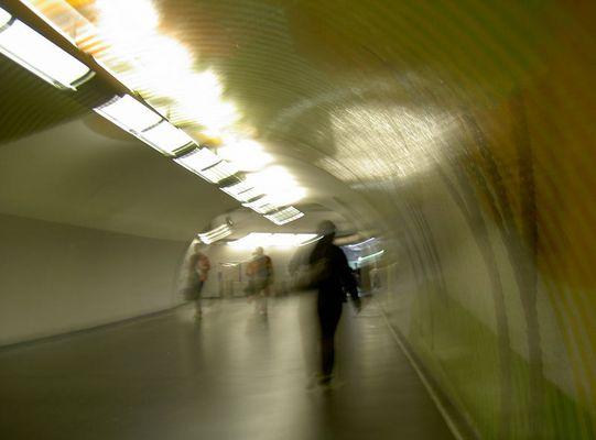 Couloir de gare....
