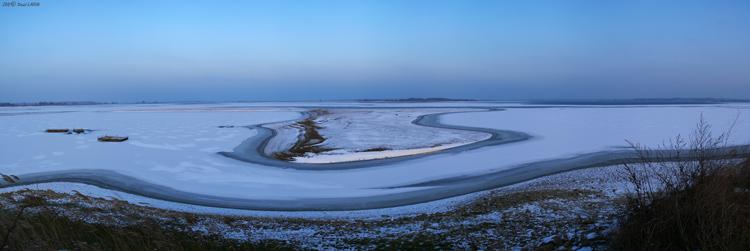 Coup de froid sur le Lac du Der
