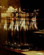 coup de soleil sur mes bouteilles :-)