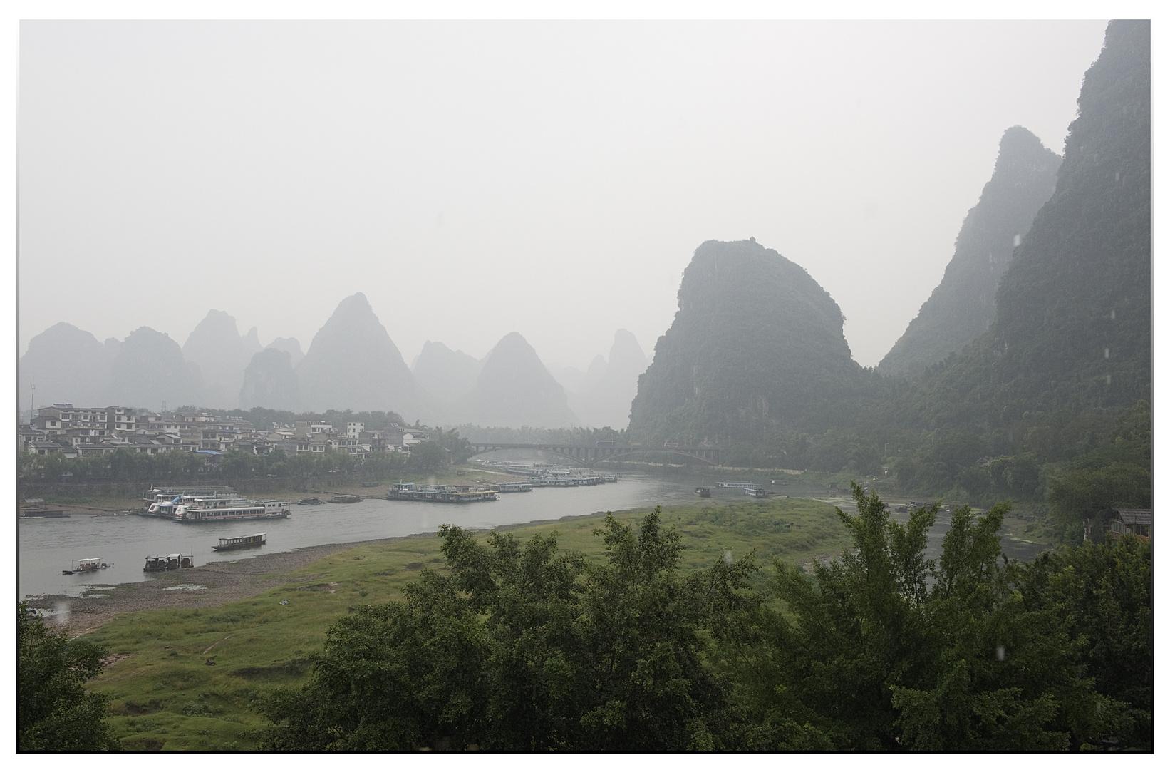 Coup de torchon à Yangshuo
