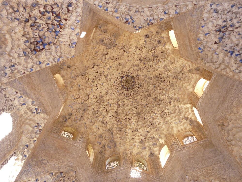 Coupole à l'Alhambra - Andalousie juin 2008
