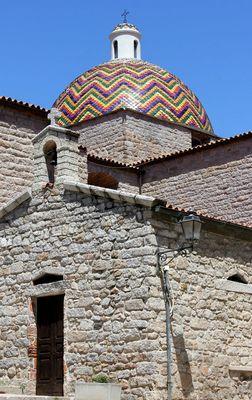 Coupole de l'église St Paul l'Apôtre ( Olbia-Sardaigne)