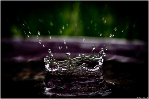 Couronne d'eau...