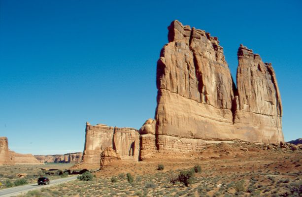 Courthouse Towers - Arches NP