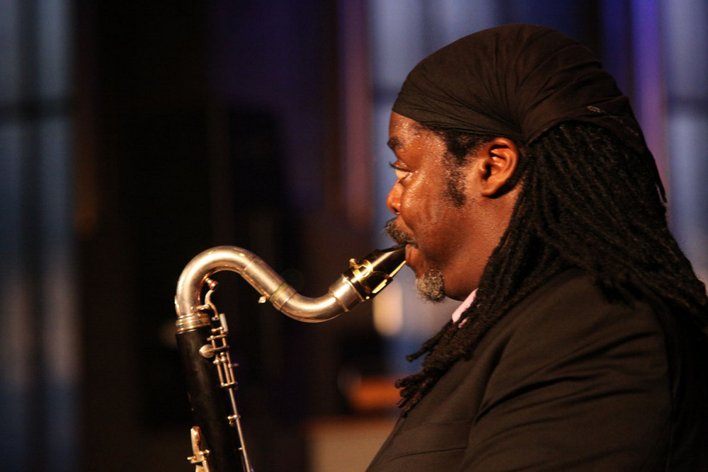 Courtney Pine in Aktion