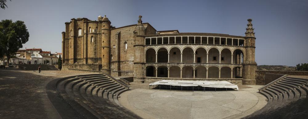 Covento de San Benito de Alcántara (Cáceres Extremadura España)