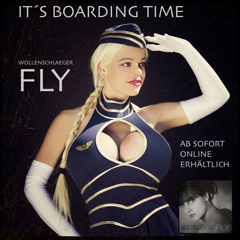 Covergirl Martina Big - It's Boarding Time :-)