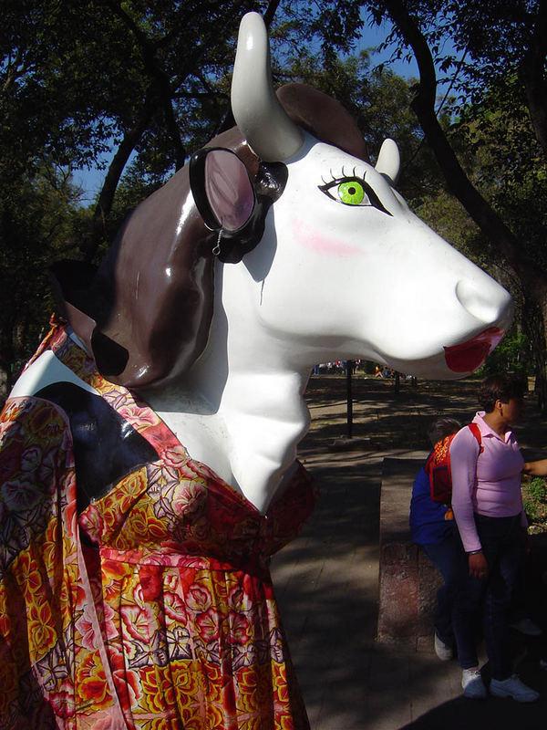 Cow Parade 2005 Mexico City - 01
