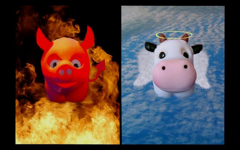 cow & pig - #2