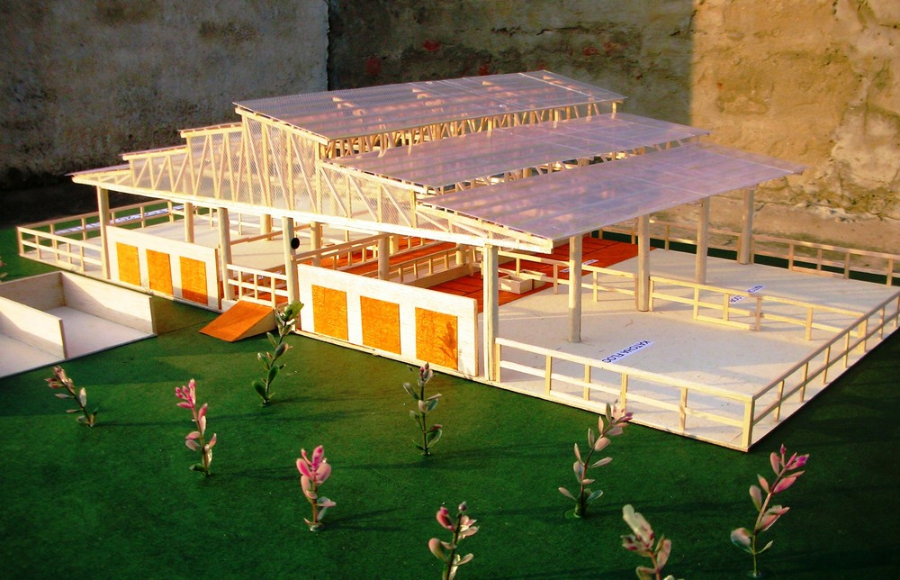 COW SHED-MODEL