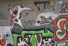 COW THROWS BOMB