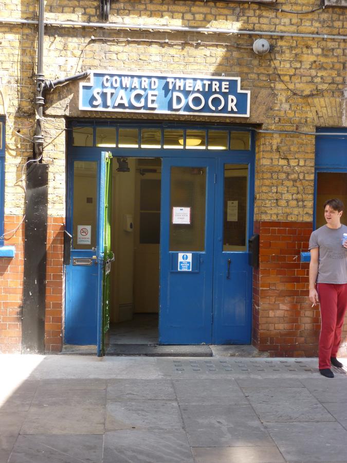 Coward Theatre Stage Door