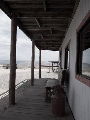 Cowboy town horizon