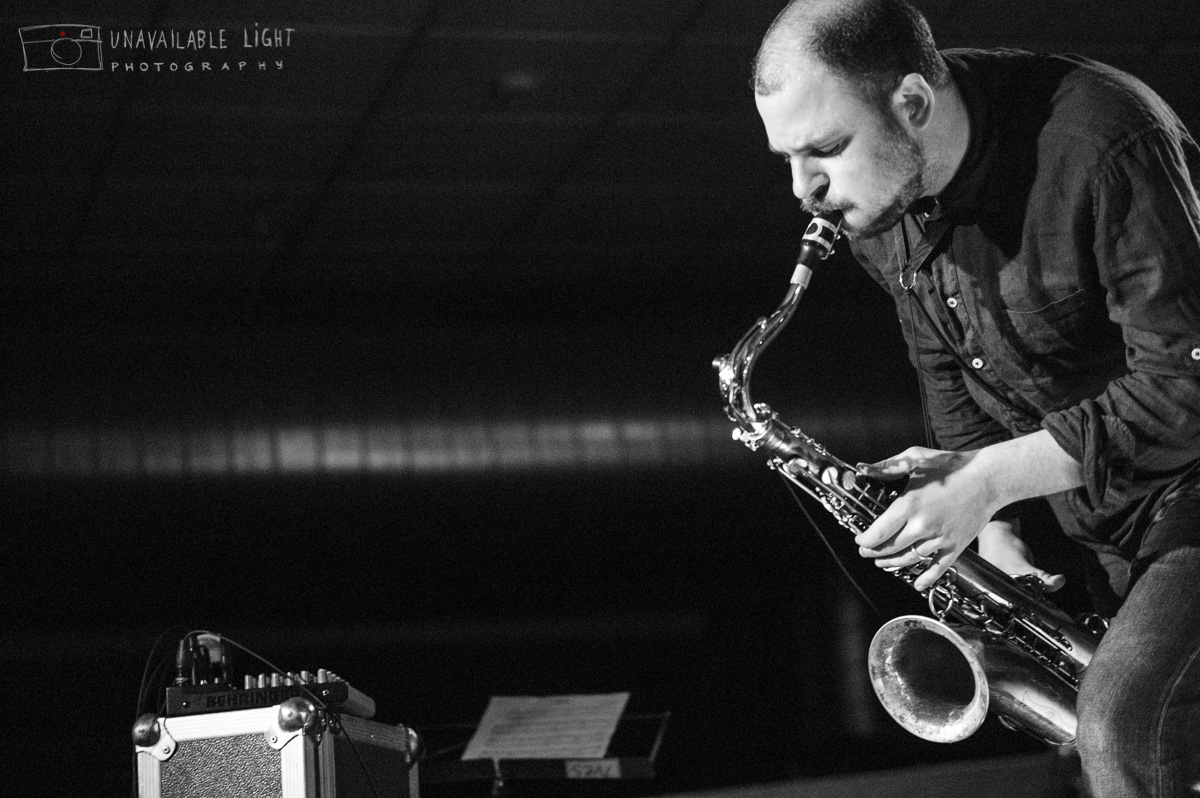 Cowboys From Hell - Christoph Irniger – Sax