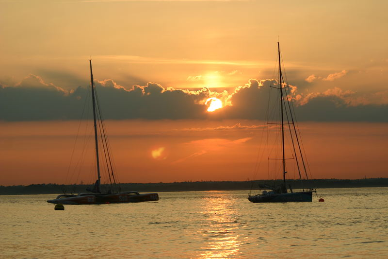 cowes sunset