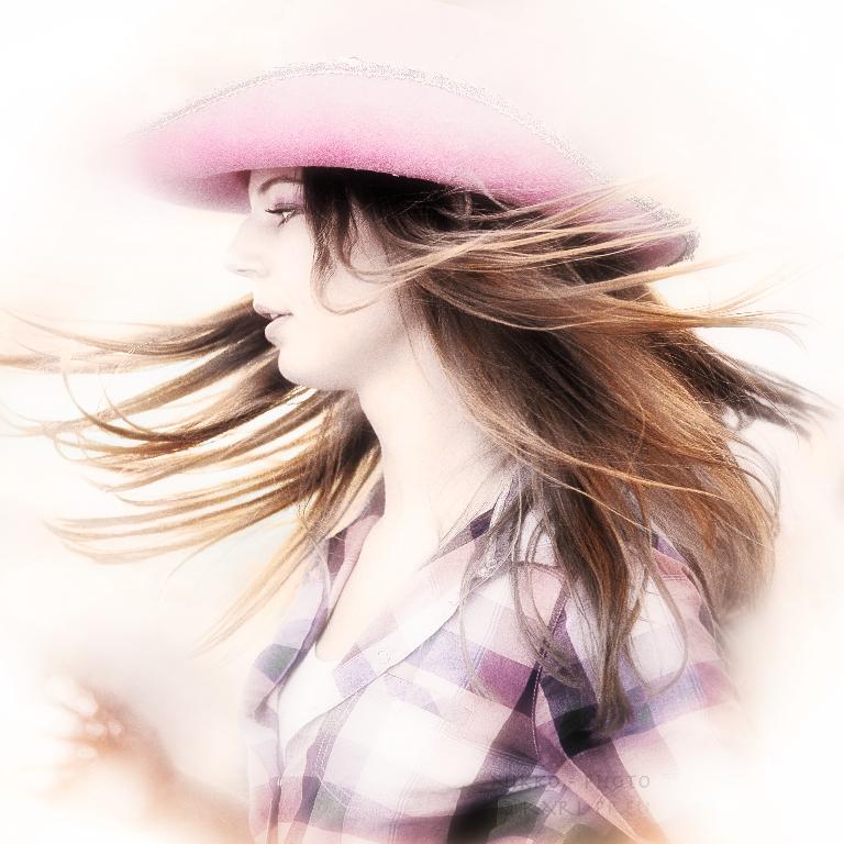 ...cowgirl dancing...