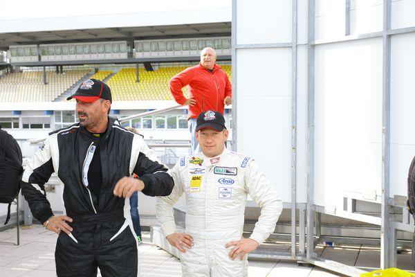 CR Racing Team mit Frank Debruyne und Andreas Germann