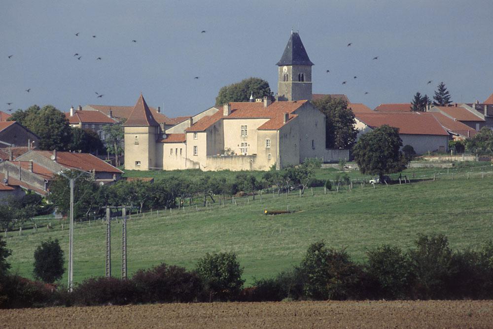 CRAINCOURT (Moselle), Château des seigneurs de Craincourt