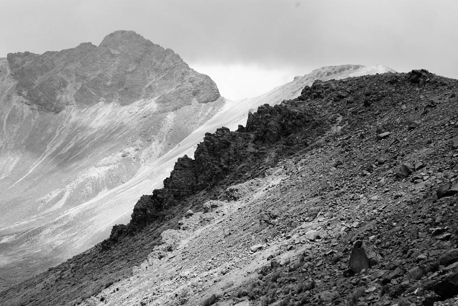 Crater del volcán Xinacantecatl