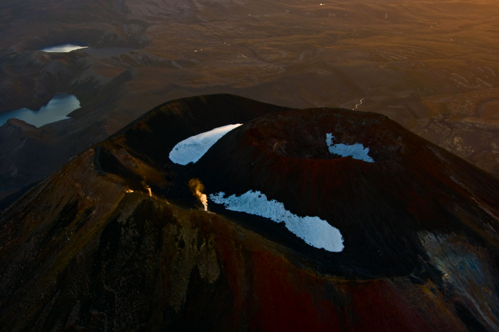 Craterview Mt-Ngauruhoe in Sunset