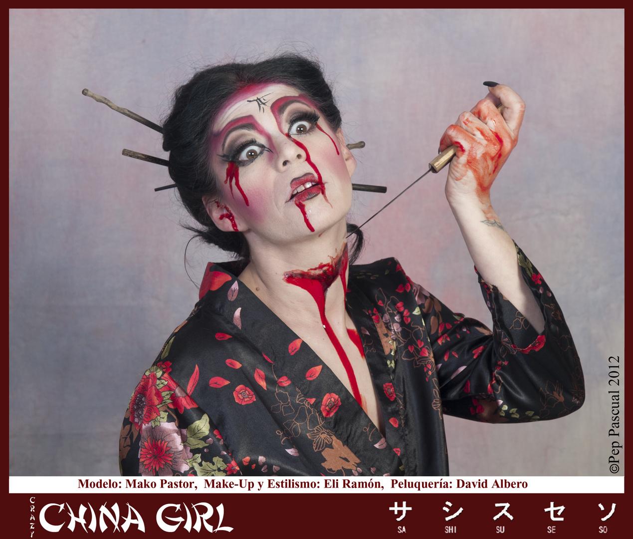 Crazy China Girl