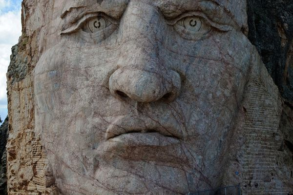 Crazy Horse Monument -Close Up-