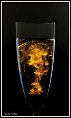 Creation de Colour of my Sektglas ;-)