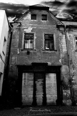 Creepy house in Czech