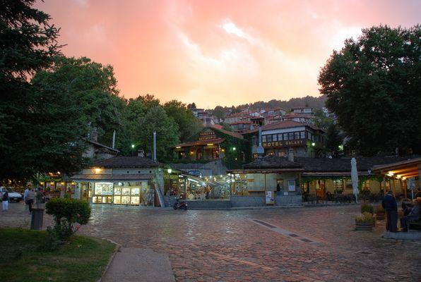 Crépuscule de Metsovo