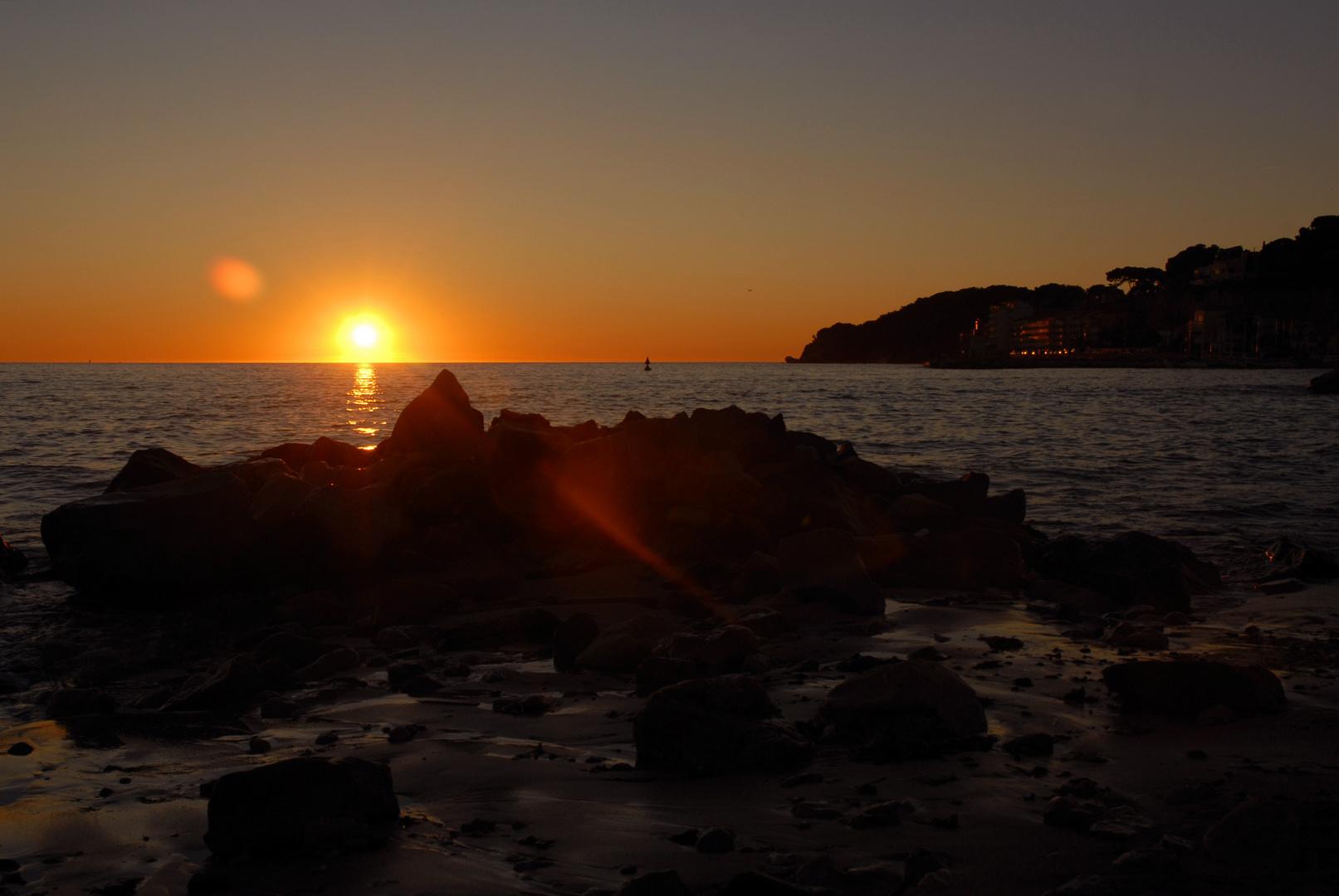 Crépuscule Maritime (Baie de Sanary sur Mer-83)