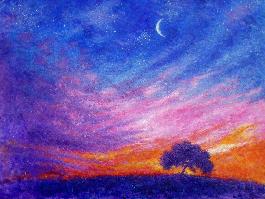 Crepusculo y la noche