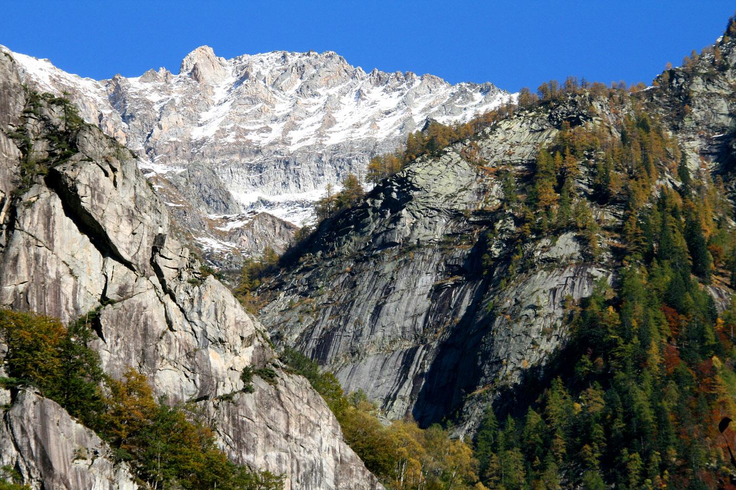 Cresta del Piatto Val Bavona