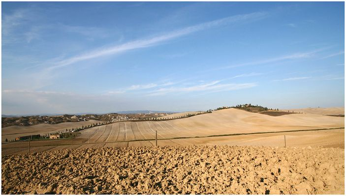 Crete Senesi nahe Siena