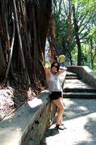 Cristina en el parque Melchor Ocampo 1