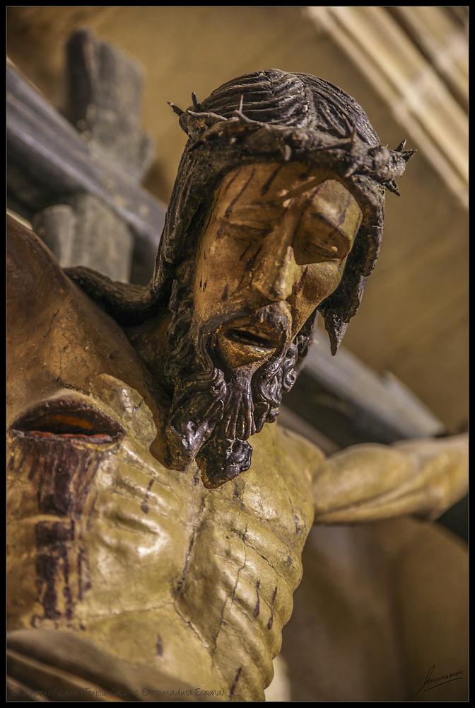 Cristo crucificado (Trujillo Cáceres Extremadura España)